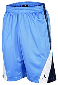 Nike Men's Dri-Fit Elite Power Basketball Shorts-Baby Blue