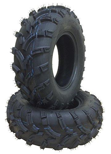 Set of 2 New WANDA ATV/UTV Tires 25x8-12 /6PR P373 - 10243 (Atv Tire Set compare prices)