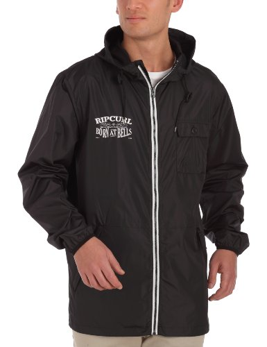 Rip Curl Solid Windshell Men's Jacket Black Small