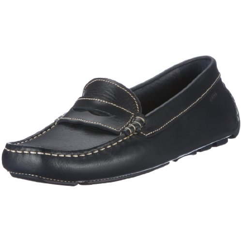 Gant Jolie navy leather Moccasins Women blue Blau (navy) Size: 7 (41 EU)
