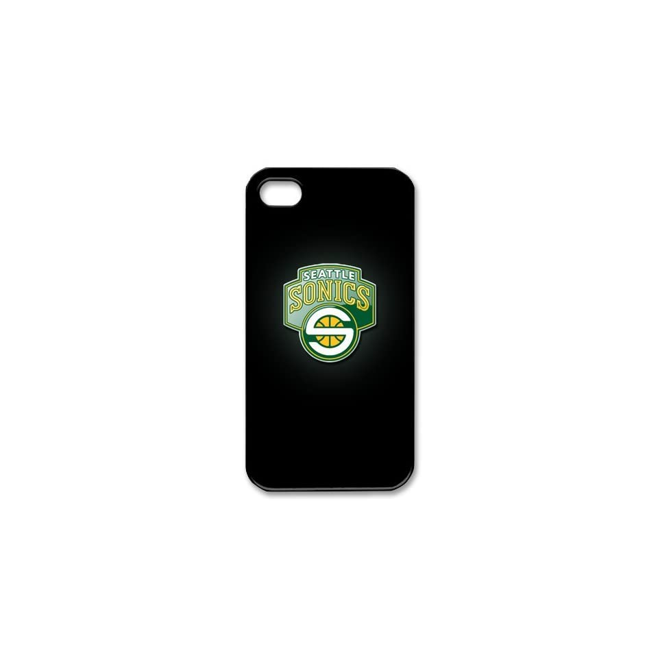 Custom Case NBA Seattle Supersonics Iphone 4/4s Case Cover New Design,top Iphone 4/4s Case Show 1a568