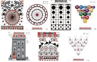 """Game Fun Target Pack - 17.5"""" X 23"""""""
