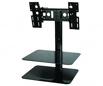 The Best  AVF ESL422B LCD TV Wall Bracket & Glass AV Shelves 25″-40″