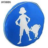 ▼ワンピース◎標識クッション☆アニメキャラクターグッズ(インテリア)通販☆【歩行者優先(ブルー) 】