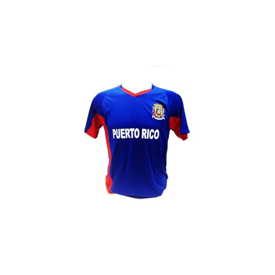 Puerto Rico Soccer Jersey Souvenir