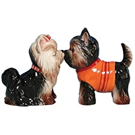 Yorkie Salt and Pepper Shakers