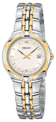 Women's Seiko® Two Tone Dress Watch