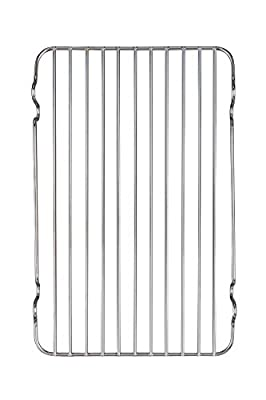 HIC Broiler Rack, 12-Inches x 7.5-Inches Set of 2