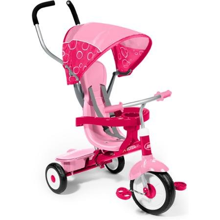 Radio Flyer Pink 4-in-1 Trike (Radio Flyer Pink 4 In 1 Trike compare prices)