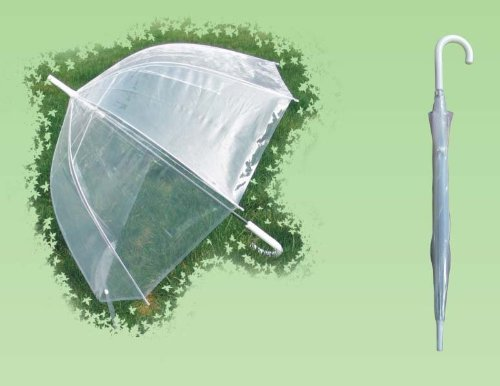 Conch 1256A Clear Bubble Canopy Umbrella