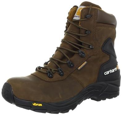 Carhartt Men's CMH6100 6 BAL Work Boot,Chocolate Brown Oil Tanned,8 W US
