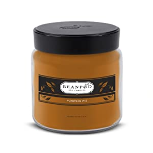 Beanpod Candles, Pumpkin Pie, 16-Ounce