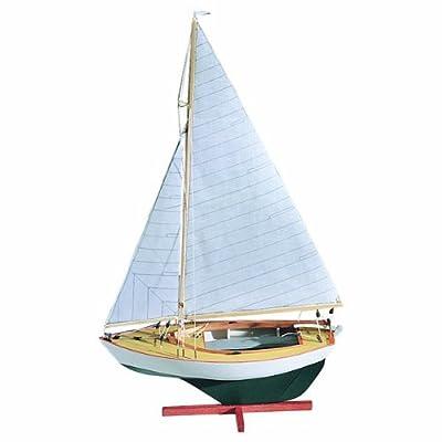 Midwest Products 983 Static Display Apprentice Boat Model Crafts Kit, Intermediate, Sakonnet Daysailer