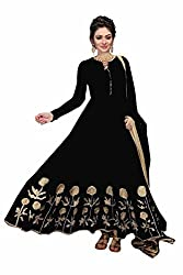 Yeoja Creation Black Salwar Suit