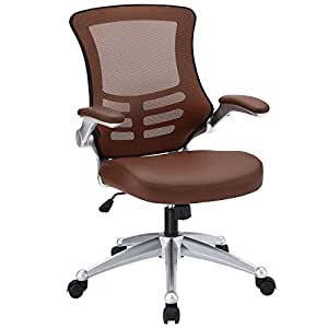 Amazon Com Lexmod Attainment Office Chair With Tan Mesh
