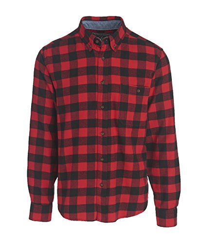 woolrich-mens-trout-run-flannel-shirt-modern-fit-red-buffalo-check-x-large