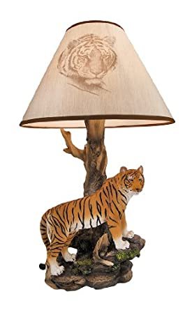`Tigris Light` Bengal Tiger Table Lamp