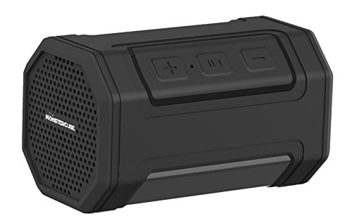 Monstercube-Bullet-Mini-Tragbarer-Bluetooth-Lautsprecher-Wireless-Speaker-fr-TabletLaptops2x3W-Treiber-2000mAh-aufladbare-Akku-mit-Fahrrad-Halter-fr-OutdoorIndoor-Sports