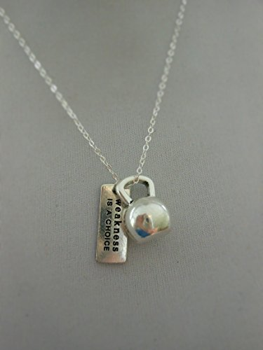 Kettlebell Necklace,