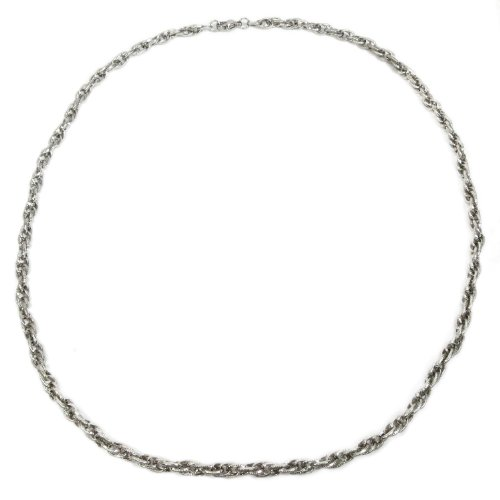 Kaon Stainless Steel Loose Rope Chain Men Necklace 5MM 20 inches