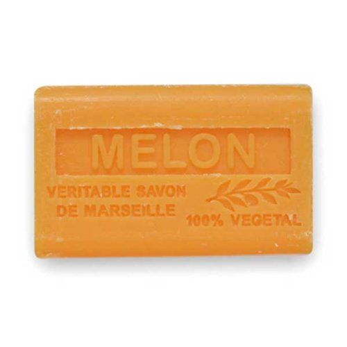 (南仏産マルセイユソープ)SAVON de Marseille メロンの香り(SP027)(125g)