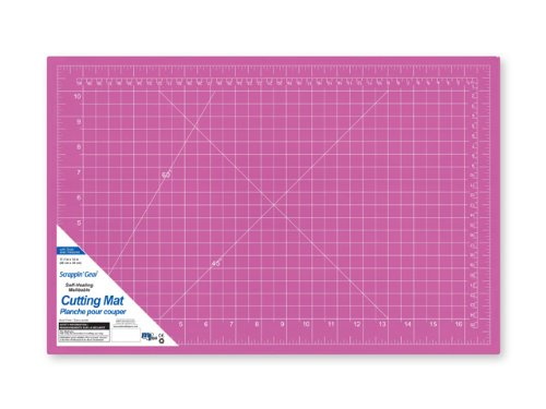 Scrappin-Gear Self-Healing A3 Cutting Mat with Grids, 12-Inch x 17.75-Inch