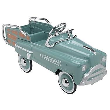 American Retro Classic Pedal Green Estate Wagon