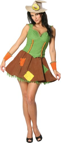 Wizard of Oz - Sassy Girl Scarecrow Adult Costume Size 10-12 Medium