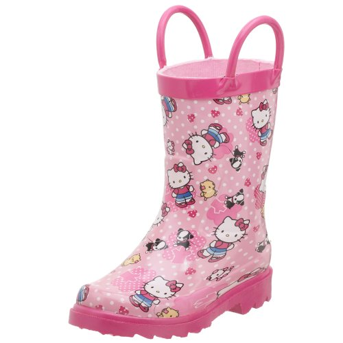 Western Chief Toddler/Little Kid Hello Kitty Puppy Rain Boot
