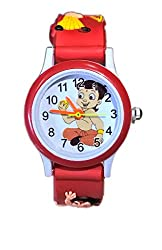 Rana watches ChotaBhim White Dial Kids Watch For Girls/Boys - Colour May Vary