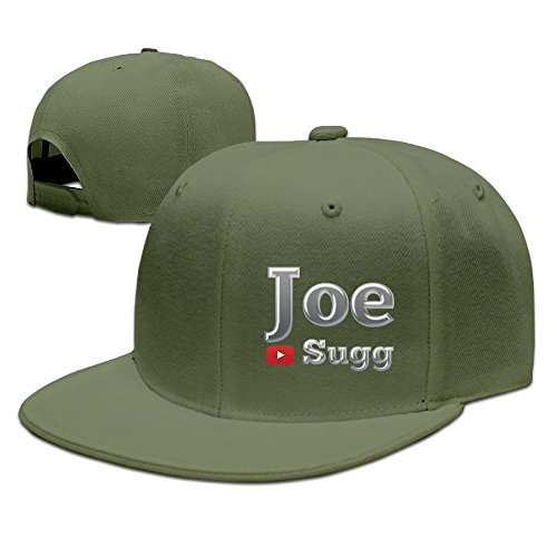 CYANY YouTuber JS Flat Bill Snapback Adjustable Mountain Climbing Caps Hats ForestGreen (Loc Peppa compare prices)