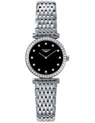 Special Price Longines Watches Longines La Grande Classique with Diamond Bezel and Diamond Hour Markers Women's Watch USA Sale