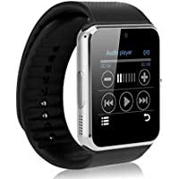 OFKP GT08 Bluetooth Smart Watch GSM Quadband Wrist Watch Phone With SIM Card Slot And NFC For Android Samsung... - B01CG5ZZ24