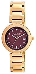 Giordano Analog Brown Dial Womens Watch - P280-33