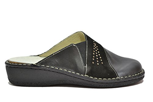 Cinzia Soft Ciabatte scarpe donna nero PLANTARE ESTRAIBILE 2965S 40