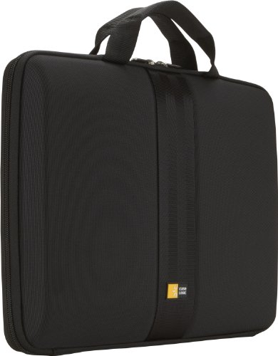 Case Logic QNS-113 13.3-Inch EVA Molded Laptop Macbook Air/Pro Sleeve (Black)
