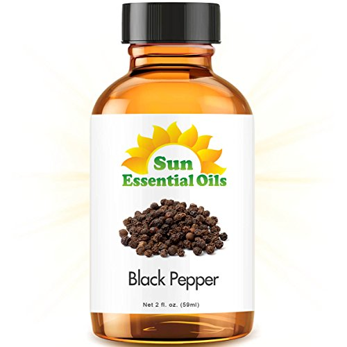 Black Pepper (2 fl oz) Best Essential Oil - 2 ounces (59ml)