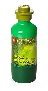 LEGO Lizenzkollektion 40551719 - Legends of Chima Trinkflasche mit Cragger-Motiv, grün