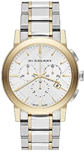 Burberry BU9751 38mm Multicolor Steel Bracelet & Case Anti-Reflective Sapphire Men's & Women's Watch