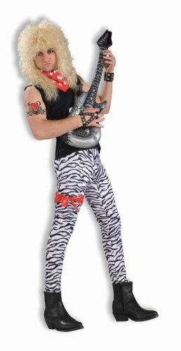 Forum Novelties Men's 80's To The Maxx Zebra Pants Costume