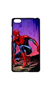 Spiderman Stylish Designer Mobile Case/Cover For Xiaomi Mi4i 2D black