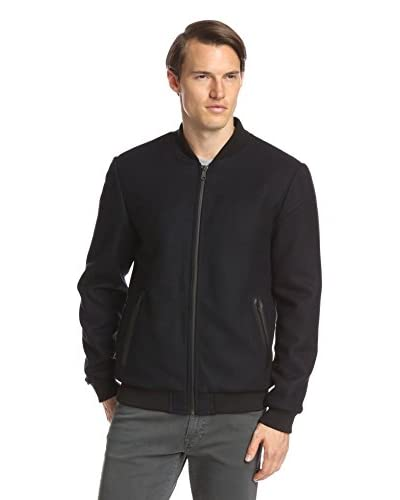 7 for All Mankind Men's Heather Twill Bomber