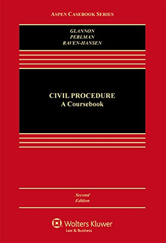 Civil Procedure: A Coursebook