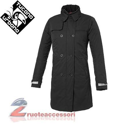 Tucano urbano 8914WF002N5 sERISSA-respirant, coupe-vent et étanche double women's-boutonnière simple padded veste pour femme noir taille l