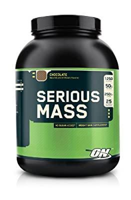 Optimum Nutrition Serious Mass Chocolate 6 Pound from Optimum Nutrition