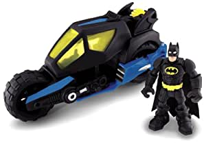 Fisher-Price Hero World DC Super Friends Batman And Batcycle