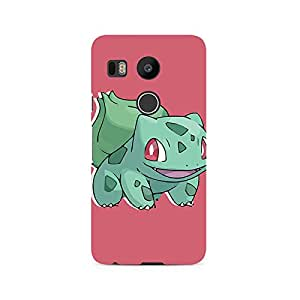 TAZindia Designer Printed Hard Back Mobile Case Cover For LG Nexus 5X