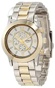 XOXO Women's XO5556 Two-Tone Bracelet Analog Watch