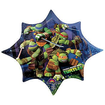 Teenage Mutant Ninja Turtles 35 Inch Foil Balloon - 1