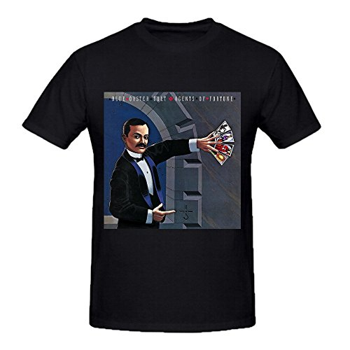 Blue Oyster Cult Agents Of Fortune Shirts 100 Cotton Men Round Neck Black (The Blue Oyster Cult Shirt compare prices)